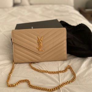 Handbags - SAINT LAURENT CHAIN WALLET BAG